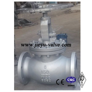 150lb 4inch Carbon Steel A216 Wcb Globe Valve pictures & photos