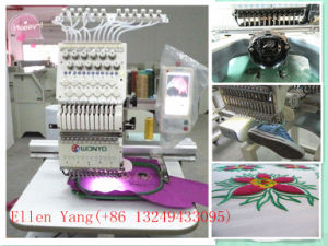 Single Head Embroidery Commercial for Cap and Flat Embroidery Machine pictures & photos