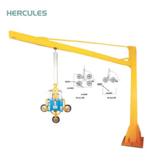 Free Standing 360 Degree Electric Jib Crane pictures & photos