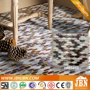 Bathroom and Restaurant Elliptic Melting Glass Mosaic (H455010) pictures & photos