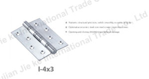 Stainless Steel Ball Bearing Hardware Wooden Door Pivot (I-4X3) pictures & photos