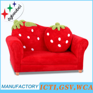 Luxury Double Seat Living Room Children Furniture (SF-169) pictures & photos