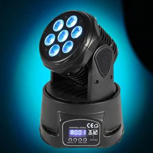 High Brightness Mini 10W Moving Head Wash DJ Lighting