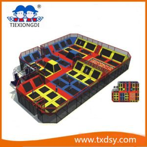 Best Play Zone-Large Trampoline Park with Foam Pit Txd16-A0086 pictures & photos