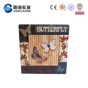 Special Design Wooden Wall Decoration with Beautiful Picture