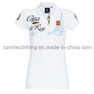 Custom Design Fancy Polo T-Shirts (ELTWPJ-31) pictures & photos
