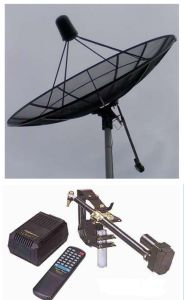 Corrosion Resistant Mesh Antenna with Motor & Actuator pictures & photos