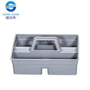 Plastic Small Tool Bucket in Gray (S) (B-039B) pictures & photos