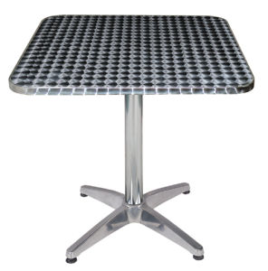 Patio Stainless Steel Canteen Table (DT-06163S) pictures & photos