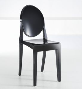 Transparent PC Wedding Chair with Backrest pictures & photos