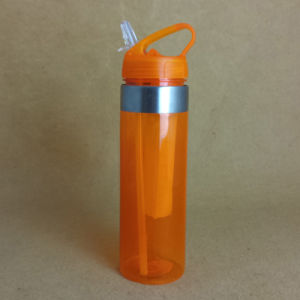 PC Water Bottle with Straw pictures & photos