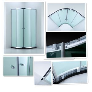 Shower Enclosure with Bi-Metal Quiet Pulley Wheel (A-CVC047-S) pictures & photos
