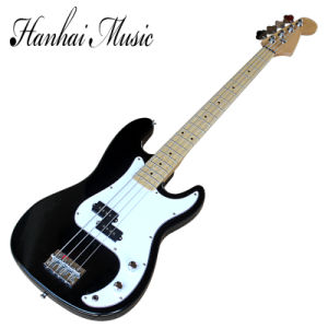 Hanhai Music / 4 Strings Electric Bass Guitar with White Pickgaurd pictures & photos