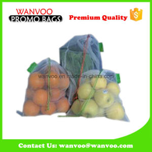 Promotional Polyester Vegetable Fruit Mesh Bag pictures & photos