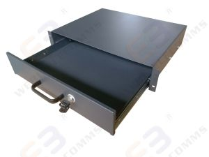 2u Rack Mountable Metal Drawer with Lock pictures & photos