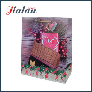 Christmas Candy Gift Choclate Wholesales Custom Paper Bag pictures & photos
