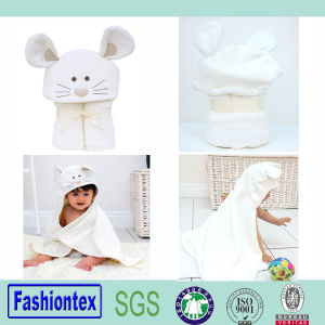New Style Cotton Soft Kids Animal Hooded Towel Bath Towel pictures & photos