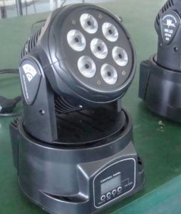 High Brightness Mini 10W Moving Head Wash DJ Lighting pictures & photos