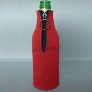Neoprene Insulated Beer Beverage Bottle Holder Drink Bottle Cooler (BC0003) pictures & photos
