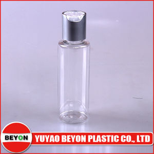 60ml Round Plastic Pet Bottle with Disc Top Cap pictures & photos