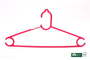 Eisho Clothes Clothing Type and Garment Usage Plastic Hanger pictures & photos