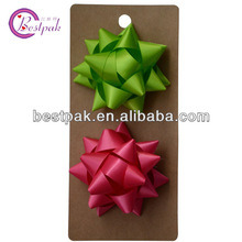 High Quality Satin Elegant Star Bow