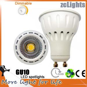 Best Price High Lumen Dimmable 7W COB LED GU10 Spotlights