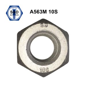 A563m 10s Hsn Nuts Dacromet 1000hrs