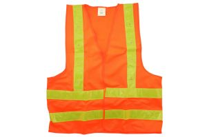 100% Polyester Pvcreflective Tape LED Safety Vest-Kseibi pictures & photos