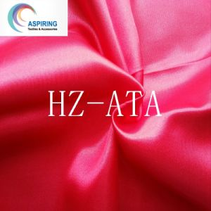 75D*100d Polyester Satin Fabric/Dying Satin Fabric pictures & photos