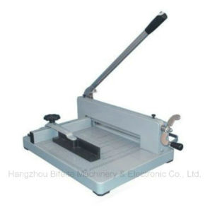 Yg-858 A3 /A4 Desktop Manual Paper Cutter Machine pictures & photos