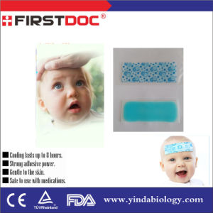 Hot Sale Fever Reducing Menthol Cooling Gel Patches for Baby pictures & photos