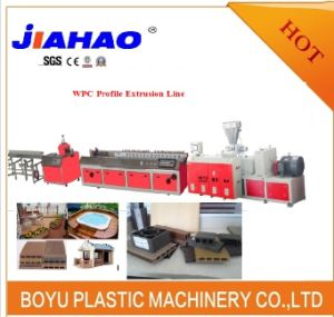 WPC (Wood plastic composite) Extrusion Line/Production Line/Machine/Machinery/Extruder/Making Machine