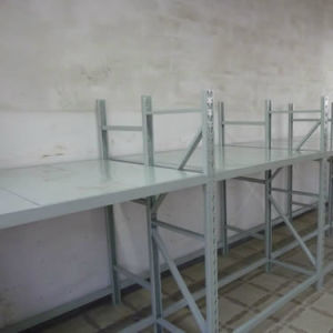 Light Duty Slotted Angle Steel Rivet Shelf pictures & photos