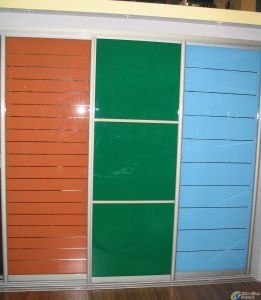 Painted Tempered Glass Cabinet with En12150 pictures & photos