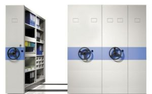 Mechanical Mobile Shelving Systems pictures & photos
