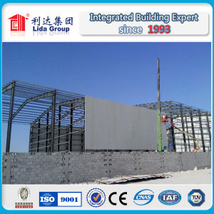 Egypt Prefabricated Steel Structure Warehouse pictures & photos