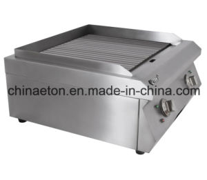 Full Grooved Electric Griddle for Et-Pl-600k pictures & photos