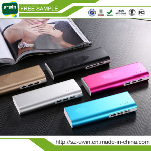 Three Ports 12000mAh Power Bank pictures & photos