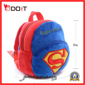 Hot Sale Boys Superman Plush School Bag pictures & photos