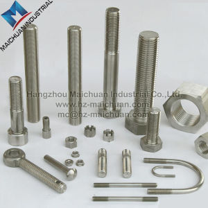A2 A4 304 316 Stainless Steel Hex Head Bolts and Nuts pictures & photos