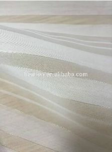 Good Quality Sliver Stripe Silk Organza for Summer Dress or Clothes pictures & photos