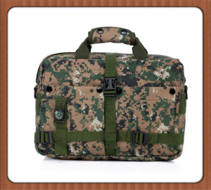 Convenient Military Computer Bag, Army Laptop Pocket with Compass pictures & photos