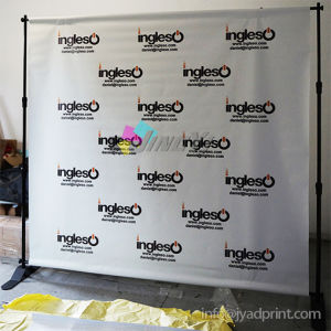 Print Step and Repeat Logo Wall Banner Expandable Telescopic Stand