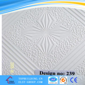 PVC Film for Plasterboard Ceiling 1230mm*500m 251p-1 PVC Film pictures & photos
