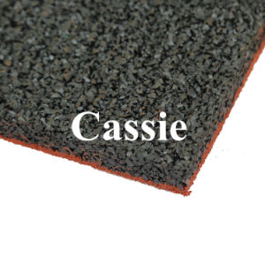 Recycle Rubber Tile/Colorful Rubber Paver/Interlocking Rubber Floor Tiles pictures & photos