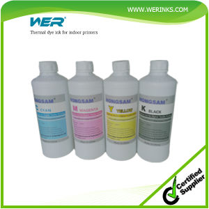 2016 Wer China Universal Dye Ink for Indoor on-Woven Printing pictures & photos