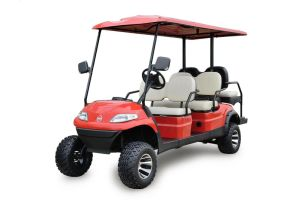 6 Seaters High Lifted Electric Golf Car with Ce Certification pictures & photos