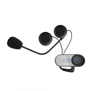 1000m Motorcycle Skii Helmet Intercom Bluetooth Headset with LED Display pictures & photos