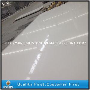 Pure White/Pure White Artificial Quartz Stone Slabs pictures & photos